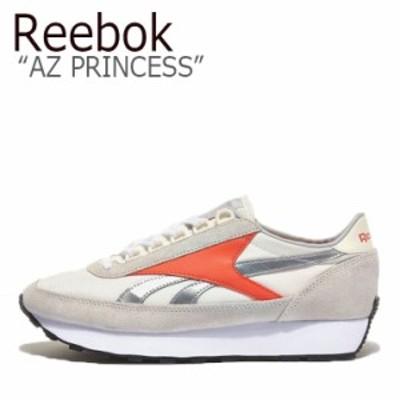 リーボック スニーカー REEBOK メンズ レディース AZ PRINCESS アズテック プリンセス SILVER ORANGE FX4048 RBKFX4048 シューズ