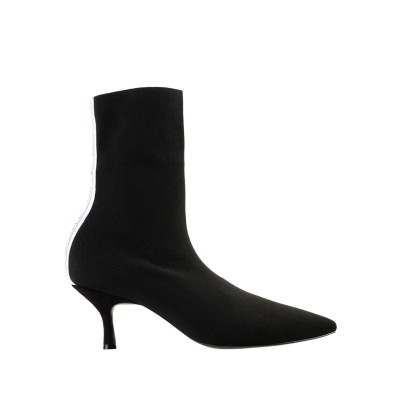 GAëLLE Paris ショートブーツ ブラック 36 紡績繊維 ショートブーツ