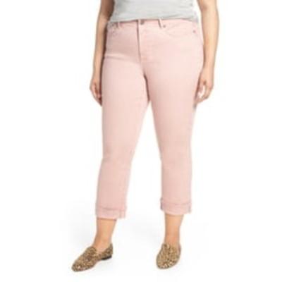 エヌワイディージェイ レディース デニムパンツ ボトムス Marilyn Cuff Straight Leg Jeans PUEBLO ROS
