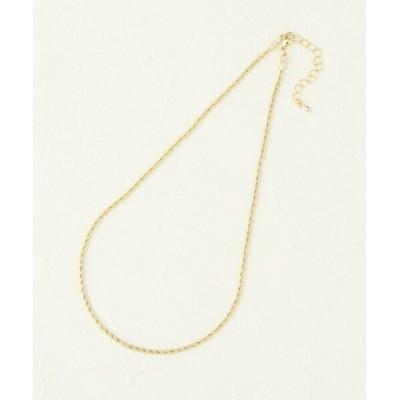 Couture Brooch/クチュールブローチ アソートチェーンネックレス ツイスト/ゴールド(207) 00