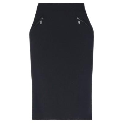ベルスタッフ BELSTAFF ひざ丈スカート ブラック 48 ナイロン 96% / ポリウレタン 4% ひざ丈スカート