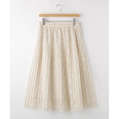 OFF PRICE STORE(Women)(オフプライスストア(ウィメン)) JILLSTUARTレースプリーツスカート
