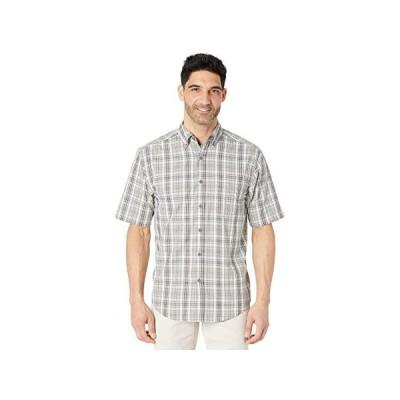 ウルヴァリン Mortar Short Sleeve Shirt メンズ シャツ トップス Concrete Plaid