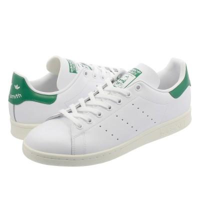 スニーカー メンズ レディース アディダス スタンスミス adidas STAN SMITH adidas Originals RUNNING WHITE/OFF WHITE/BOLD GREEN bd7432