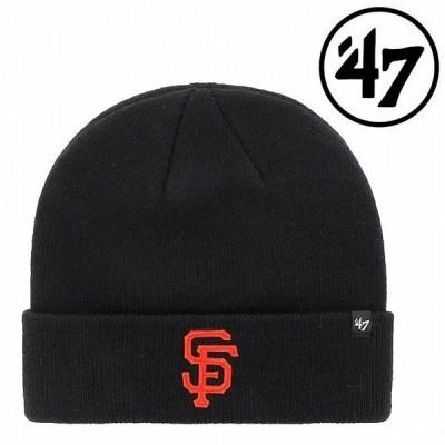 47BRAND ジャイアンツ カフニット 47 ニット ビーニー ベースボール ニット帽子 Giants 47 Fungo Cuff Knit