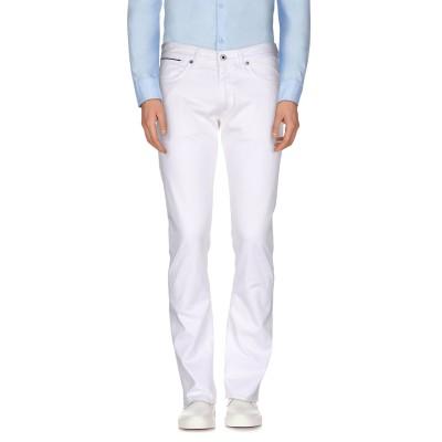インコテックス INCOTEX パンツ ホワイト 36 コットン 97% / ポリウレタン 3% パンツ