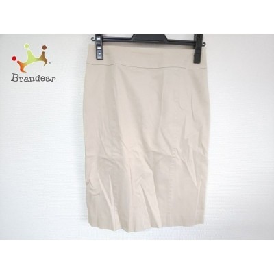 ニジュウサンク 23区 スカート サイズ36 S レディース 美品 ベージュ   スペシャル特価 20200802