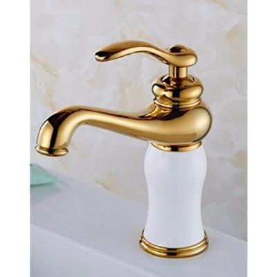 ミキサー AWXJX Copper Jade Pull Out Gold Sink Mixer Taps