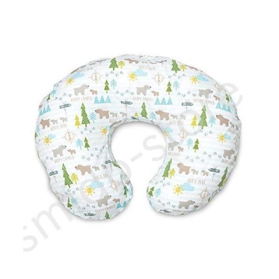 新品未使用!!送料無料!!Boppy Original Nursing Pillow and Positioner, North Park, Cotton Blend Fabric with allover fashion