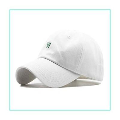 QWSNED Baseball Cap Turnback Ladies Men Dad Wearing Straw Hat Straw Hat並行輸入品
