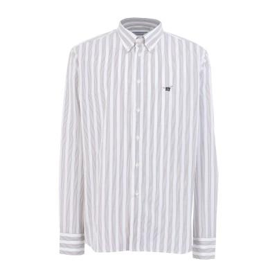 ヘンリー コットンズ HENRY COTTON'S シャツ ホワイト L コットン 100% シャツ