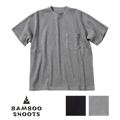 BAMBOO SHOOTS(バンブーシュート)S/S THERMAL POCKET T-SHIRT  ショートスリーブサーマルポケットTシャツ