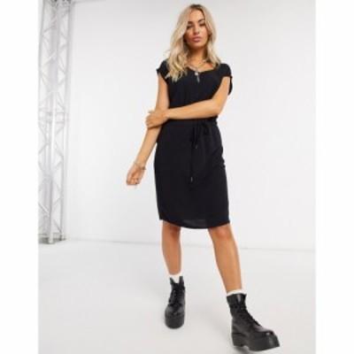 オブジェクト Object レディース ワンピース ミドル丈 ワンピース・ドレス Bay Dallas Midi Dress ブラック