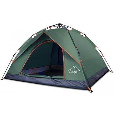 テント 2 & 3 Person Camping Tent - Toogh 3 Season Backpacking tent Sundome pop up Tents for Outdoor Sports