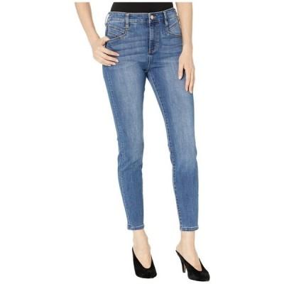 リバプール レディース デニムパンツ ボトムス Abby High-Rise Ankle Skinny w/ Slant Pockets in Eco-Friendly Denim in Laine