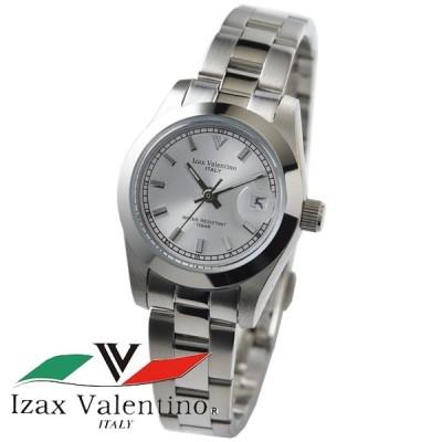 アイザックバレンチノ 腕時計 レディース 時計 デイト IVL-250-1 新品 無料ラッピング可