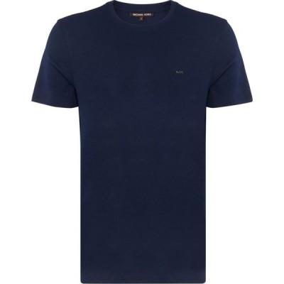 マイケル コース Michael Kors メンズ Tシャツ トップス Short Sleeve Sleek T Shirt Navy