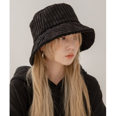 UNE MANSION / ベーシックコーデュロイバケットハット WOMEN 帽子 > ハンチング/ベレー帽