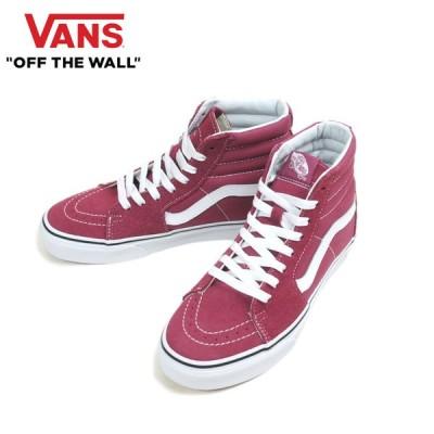 バンズ VANS ヴァンズ【箱無し】SK8-HIスケートハイPINK/WHITE(ピンク/ホワイト)レディース 靴 スニーカー ハイカット スケート 白