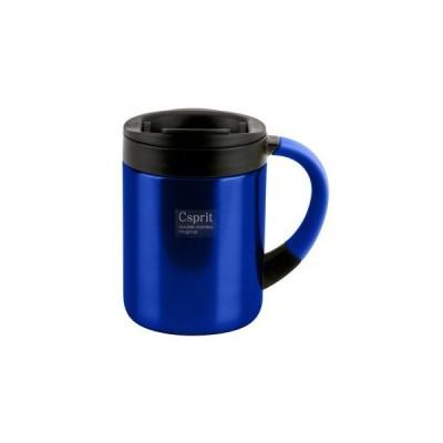 カップ キャプテンスタッグ シーエスプリ ダブルステンレスマグカップ 280ml ブルー