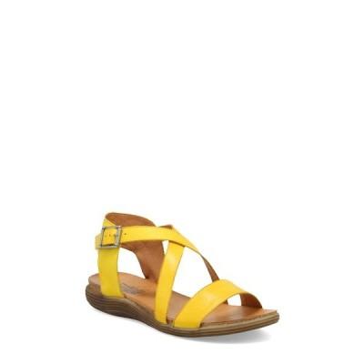 ミズムーズ サンダル シューズ レディース Margarita Sandal Yellow Leather