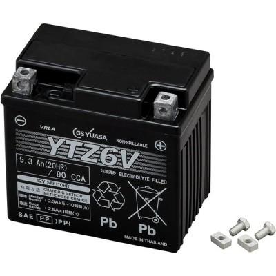 GS YUASA ( ジーエスユアサ ) シールド型 バイク用バッテリー 液入充電済 YTZ6V