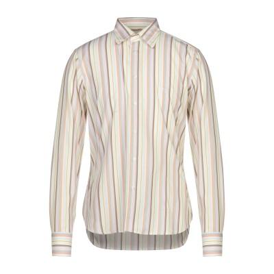 CARLO PIGNATELLI シャツ ライトグリーン 41 コットン 100% シャツ