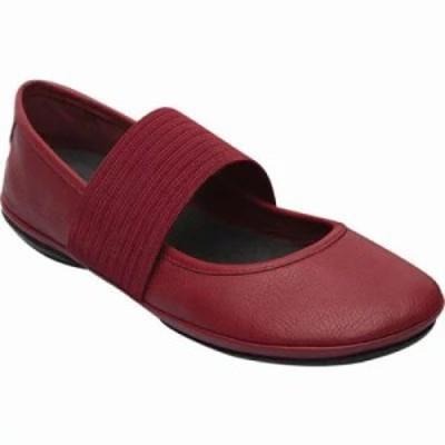 カンペール その他シューズ Right Nina Mary Jane Medium Red Smooth Leather