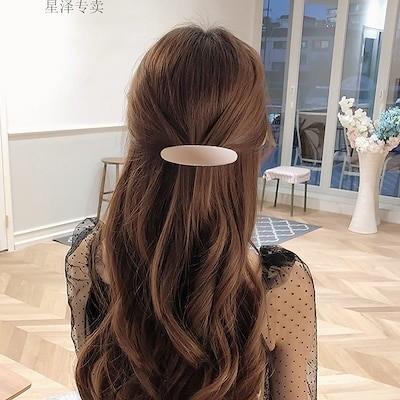 韓国ヘアピンの後頭部に簡単なヘアクリップ気質のトップアクセサリーを飾ります