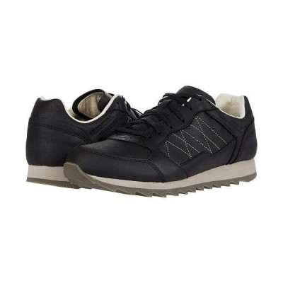 Merrell メレル メンズ 男性用 シューズ 靴 スニーカー 運動靴 Alpine Sneaker - Black Leather