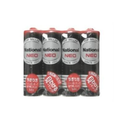 パナソニック マンガン乾電池 「ネオ」 単3形 4本パック R6PNB-4VSE