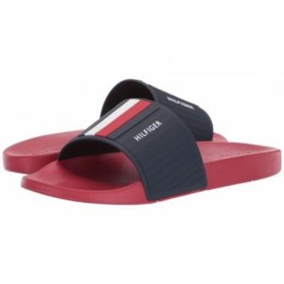 Tommy Hilfiger トミー ヒルフィガー メンズ 男性用 シューズ 靴 サンダル Eastern Red【送料無料】