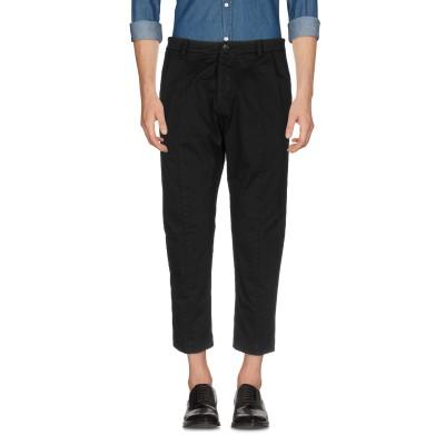 LOW BRAND パンツ ブラック 38 コットン 97% / ポリウレタン 3% パンツ