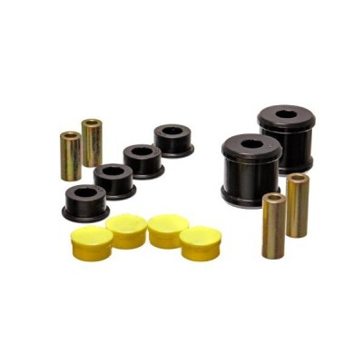 Energy Suspension 19.7101?G Trailing Arm Bushing Set ;ブラック;Rearパフォーマンスポリウレタ