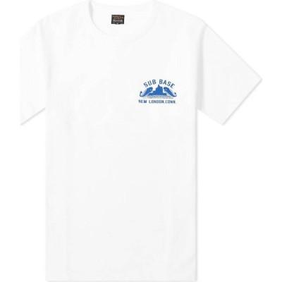 ザ リアル マッコイズ The Real McCoys メンズ Tシャツ トップス the real mccoy's sub base tee White