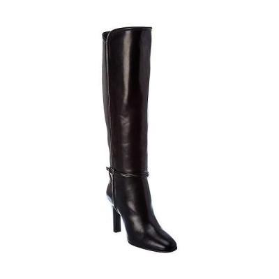 レディース シューズ  Saint Laurent Jane 90 Leather Boot