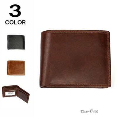 財布 メンズ 2つ折り 二つ折り財布 サイフ 牛革 革 レザー 大容量 カード入れ オシャレ 使いやすい ギフト