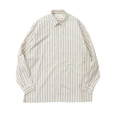 URBAN RESEARCH/アーバンリサーチ GOODBETTERBEST ストライプシャツ WHITE one