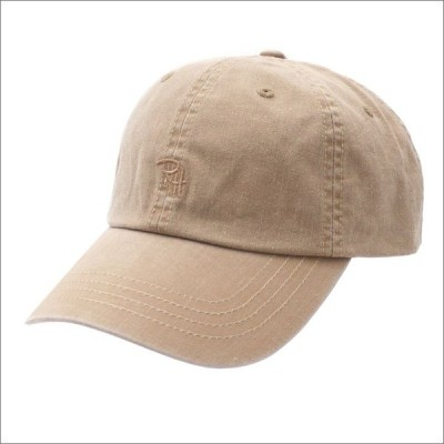 Ron Herman(ロンハーマン) COTTON RH CAP (キャップ) BEIGE 265-000982-016-【新品】(ヘッドウェア)