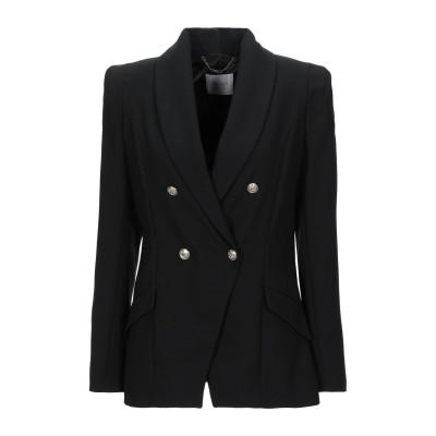 レリッシュ RELISH テーラードジャケット ブラック 38 ポリエステル 100% テーラードジャケット