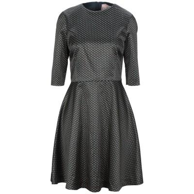 アティピコ AT.P.CO ミニワンピース&ドレス ダークブルー 42 ポリエステル 95% / ポリウレタン 5% ミニワンピース&ドレス