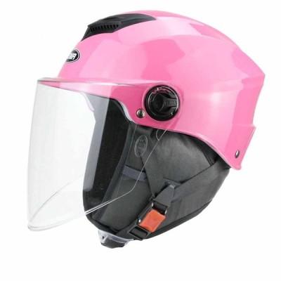 バイク用ヘルメット 半キャップ 男女兼用 マフラー 防寒 通気孔 高剛性 耐衝撃性 レインボーシールド 日焼け止め