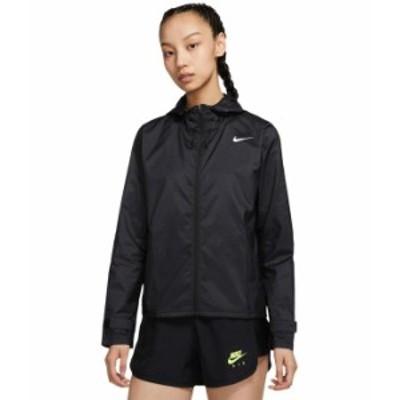 ナイキ レディース コート アウター Essential Jacket (Size 1X-3X) Black/Reflectiv