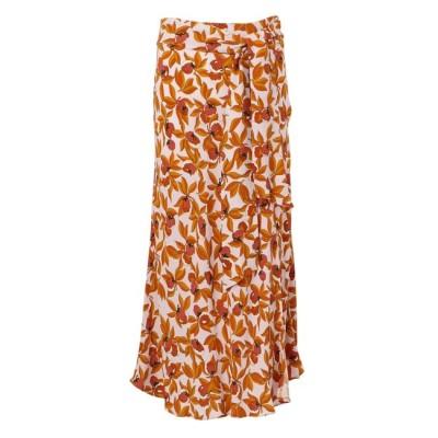 【エポカ ザ ショップ/EPOCA THE SHOP】 【Diane von Furstenberg】ガーデンプリントスリットスカート