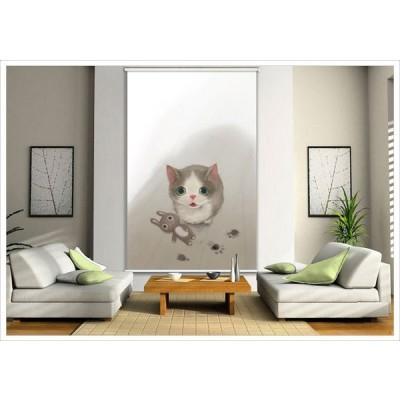 ペットの写真をロールスクリーンに ペット 4300_60 A1471