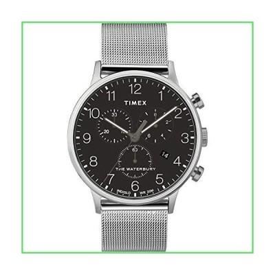Timex ウォーターベリー クラシック クロノグラフ 40mm 腕時計 One Size シルバートーン/ブ