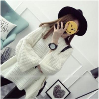ニット セーター クルーネック レディース ゆったり トップス おしゃれ 可愛い 秋 冬 カジュアル シンプル 小柄 小さいサイズ 小さい 服