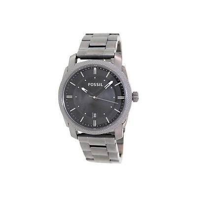腕時計 フォッシル Fossil メンズ Machine FS4774 グレー ステンレス-スチール クォーツ 腕時計