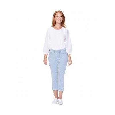 NYDJ エヌワイディージェー レディース 女性用 ファッション ジーンズ デニム Chloe Capri Jeans in Trella - Trella