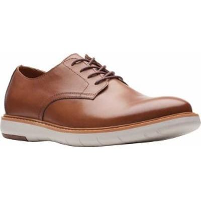 クラークス メンズ ドレスシューズ シューズ Men's Clarks Draper Lace Up Oxford Tan Full Grain Leather